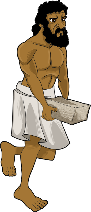 Slaves In Egypt Sunday School Craft