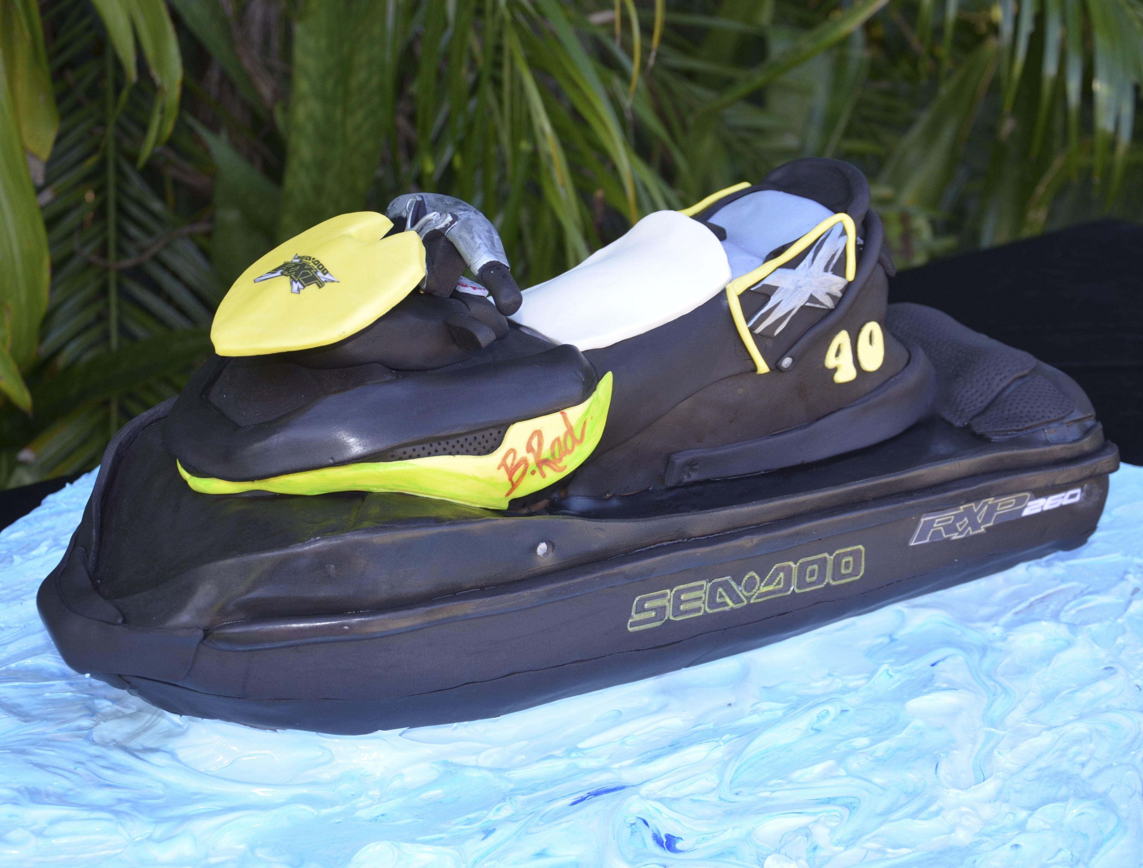 Jetski Cake Jet Ski Hoka Running Shoes Puma Sneaker