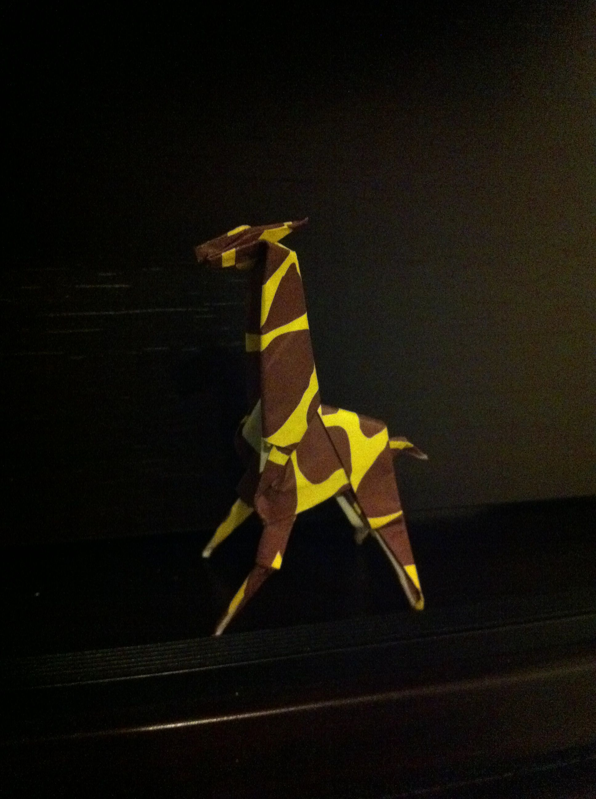 Origami giraffe designed by Peter Engel. Folded by ty 2014 ... - photo#18