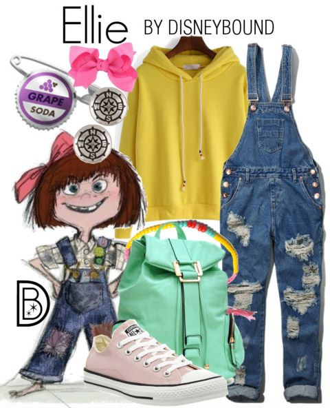 Young Ellie Disney Bound Ideas Disney Disney Themed Outfits