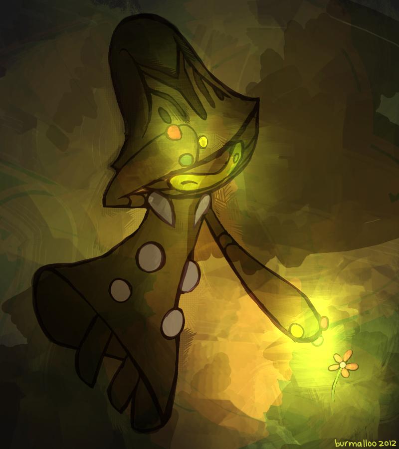 Beheeyem Paint By Burmalloo On Deviantart Pokemon Painting Pokemon Fan