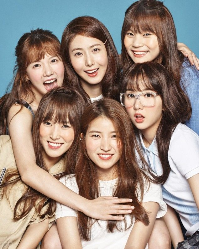 G-Friend are vibrant and full of laughs in 'GQ' magazine