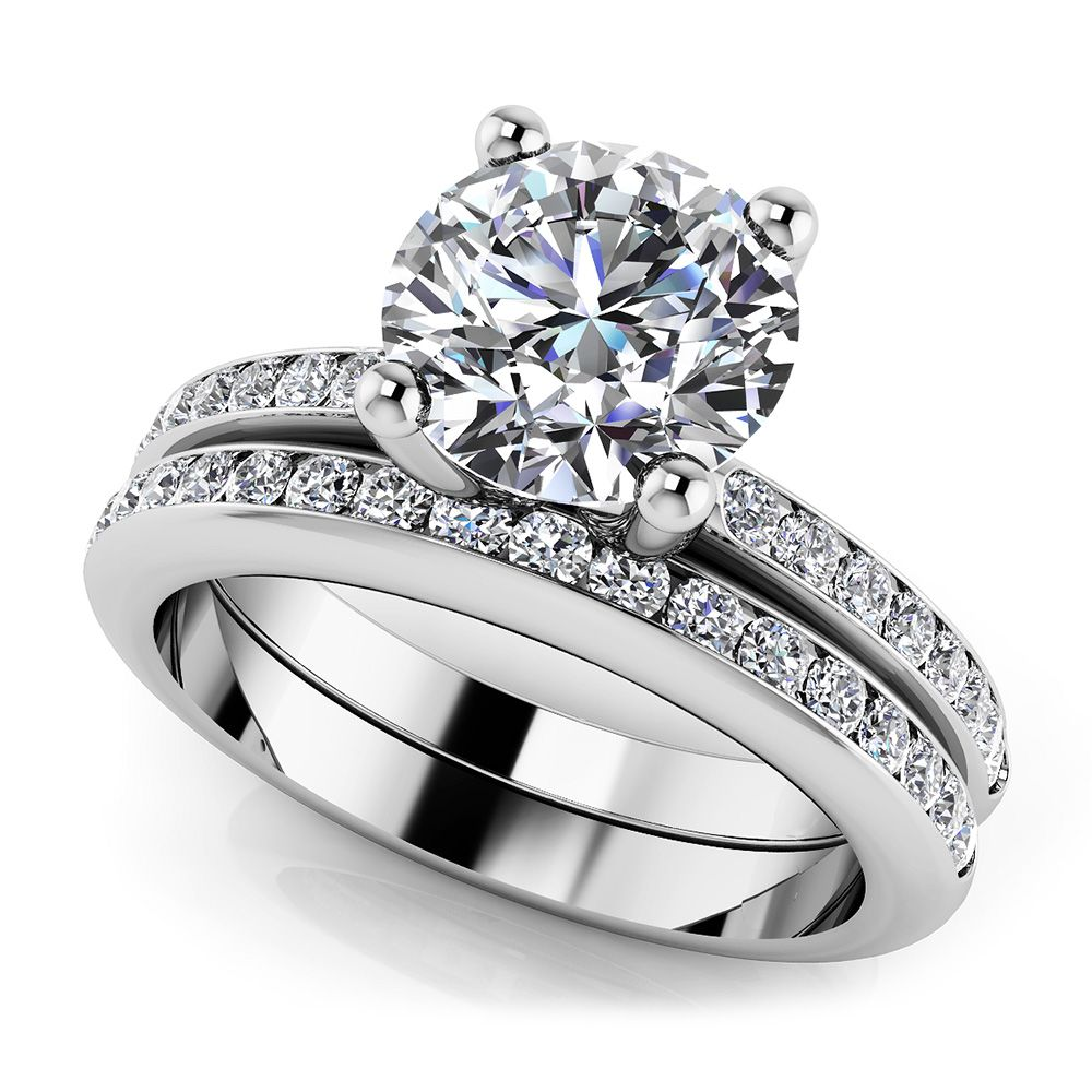 A Dream Come True Bridal Set In 14K 18K Or Platinum