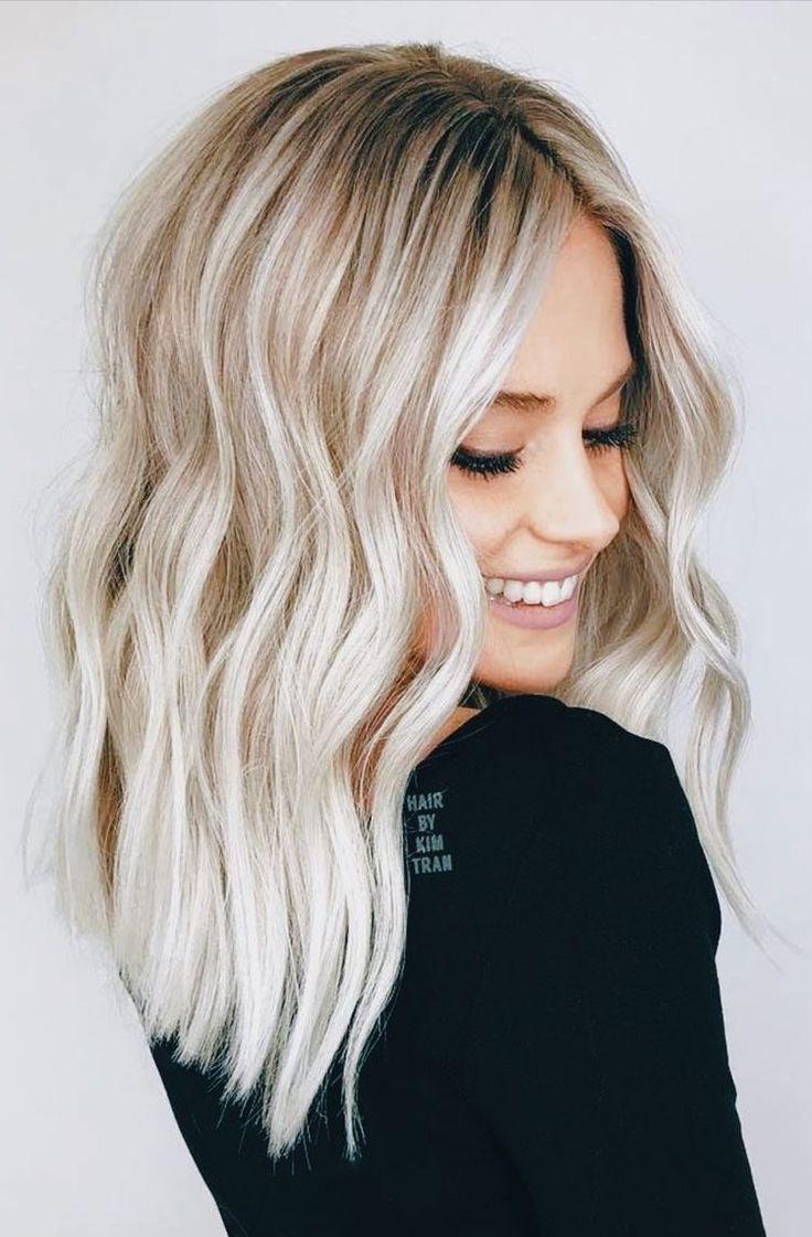 Finde Die Schonsten Haarschnitte Und Frisuren Fur Kurzes Bis Mittellanges Haar Frisuren Haarschnitt Mittellange Haare