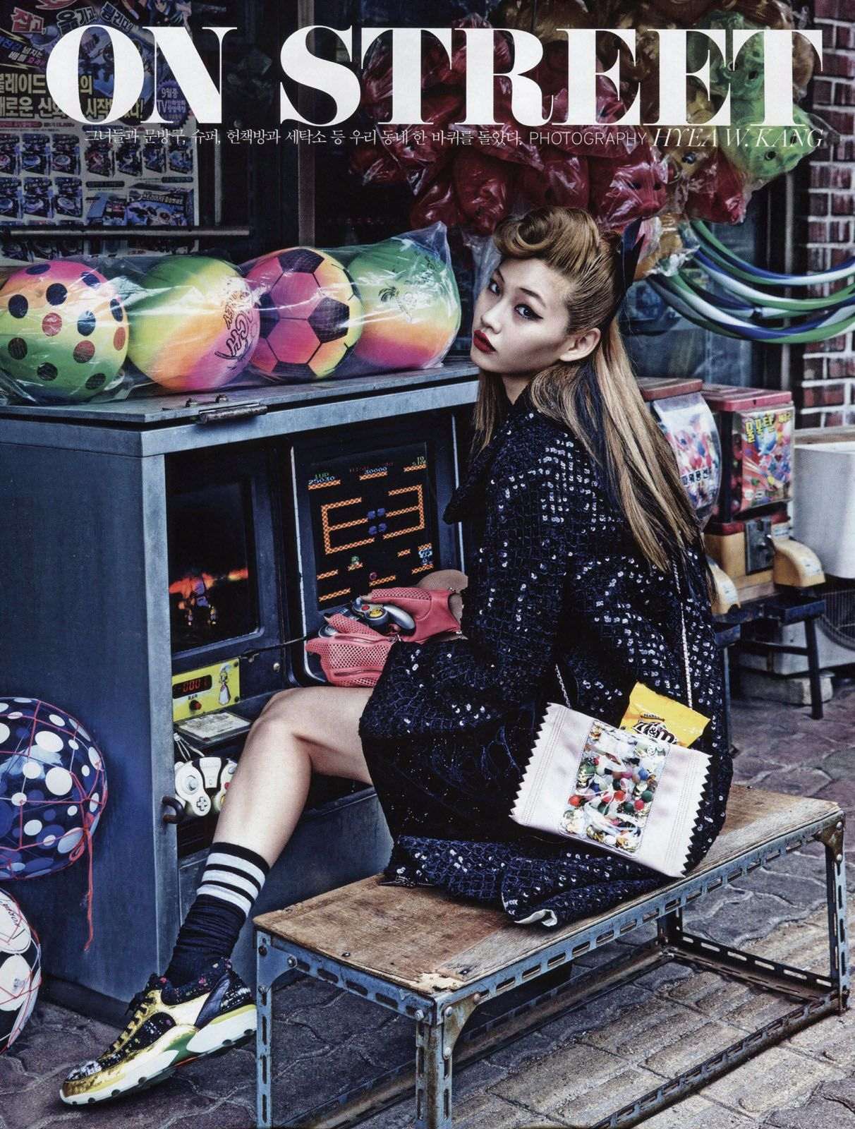 Vogue Korea August 2014 'Girls on Street' by Hyea Won Kang - Chanel