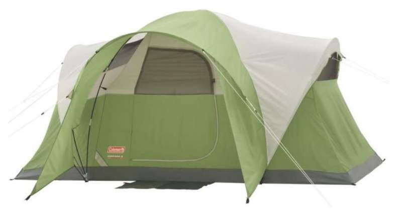 Coleman Montana 6 Person Tent Review Incredibly Affordable In 2020 6 Person Tent Tent Reviews Cheap Tents