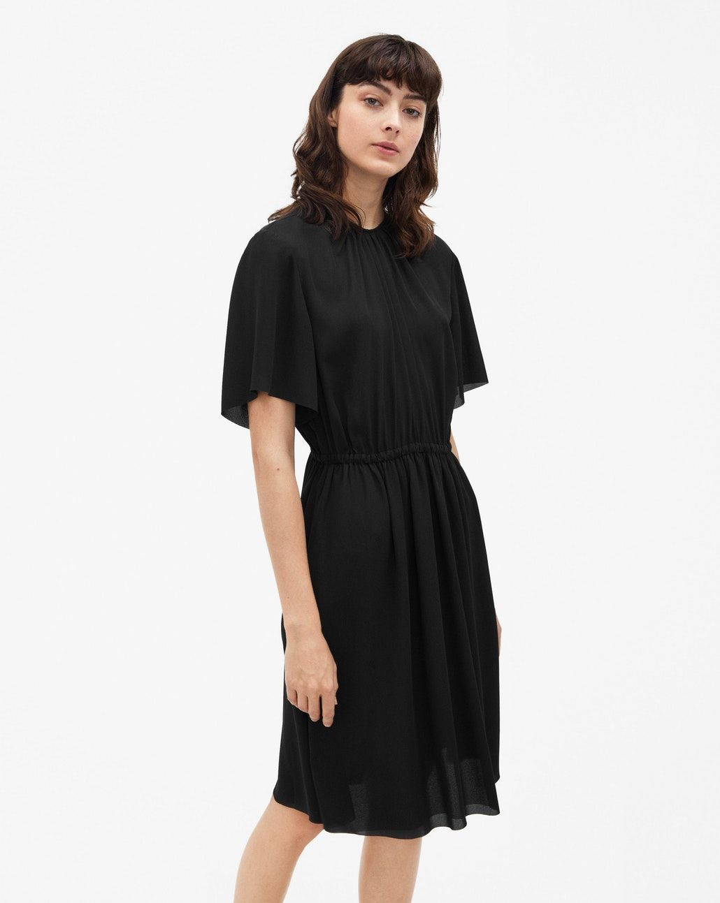 6481227f8 Filippa K, Flattering Dresses, Design Research, Crepe Dress, Dress Black, Gw