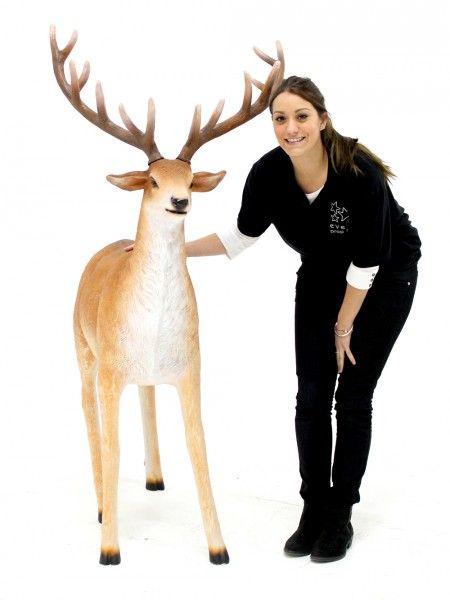 Standing Reindeer Prop