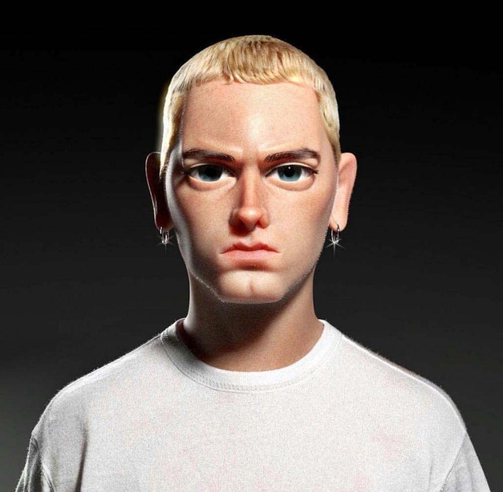 Pin By Shelly Lovell On Unique Art A Thru L In 2020 Slim Shady Eminem Bob Marley Artwork