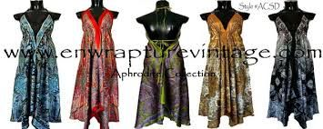 Image result for dresses made from scarves