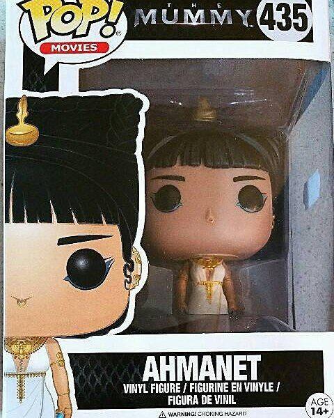 Funko POP Figura in vinile 2017 Ahmanet-la Mummia