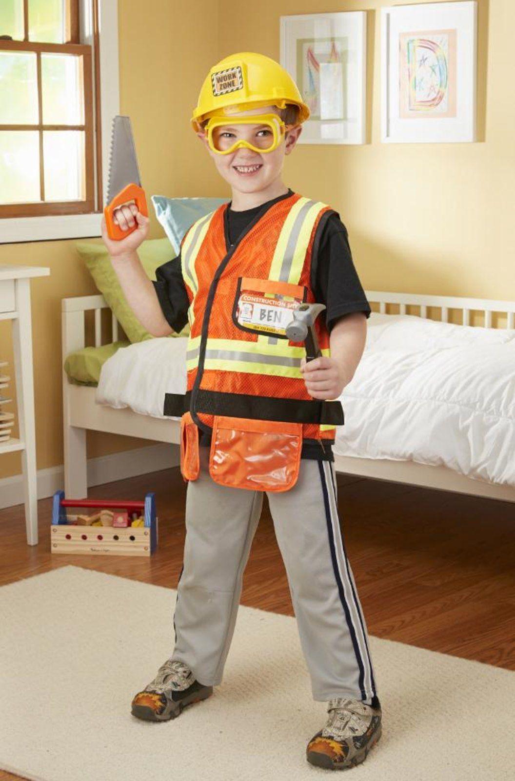 Melissa u doug construction worker role play set bradley