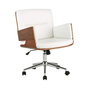 The Galley Club Office Chair In White