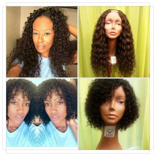 Aqua Curl> Brazilian and Indian LumiBloom Hair, custom hairpieces by Keynoa. www.myrelaycollective.com/ShakiraKPoitier