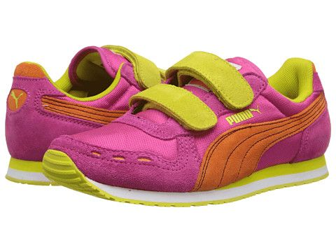 dabf0c1ef9 Puma Kids Cabana Racer NM V Kids (Toddler/Little Kid/Big Kid) Fuchsia  Purple/Vibrant Orange/Sulphur Spring - Zappos.com Free Shipping BOTH W..