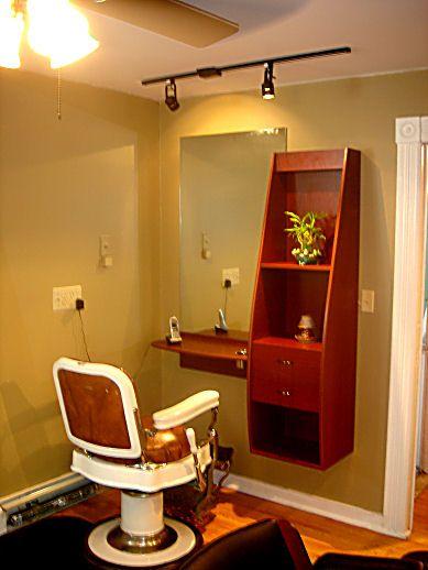 Home Spa Design Ideas: Small 12x12 Hair Salon Floor Plans
