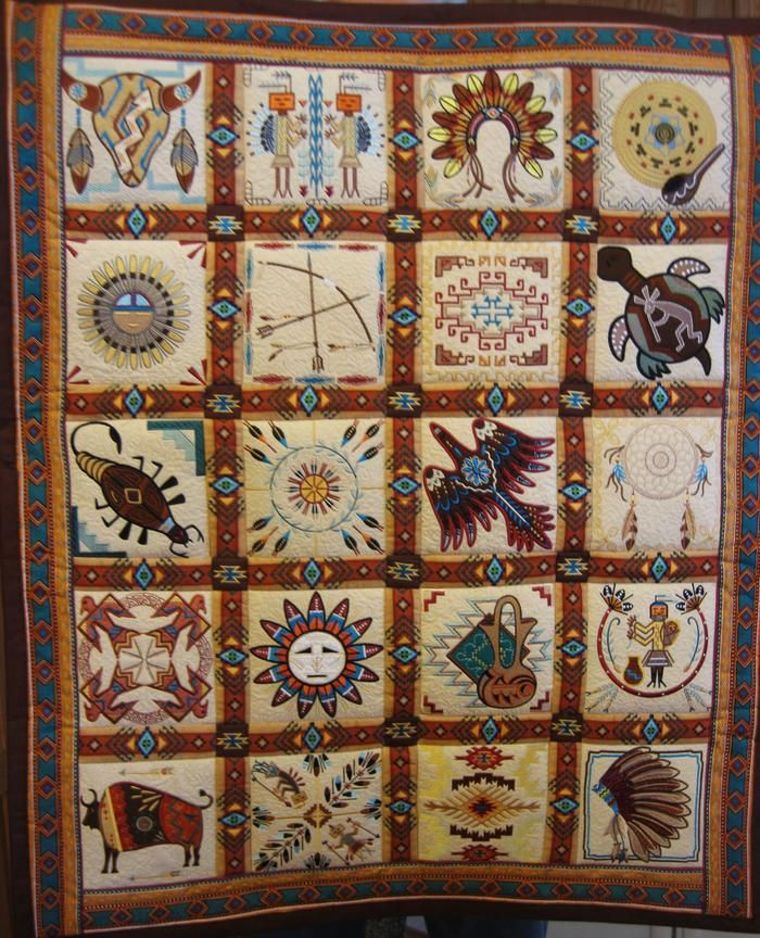 Pin By Wendy LaDue On Southwestern Quilts