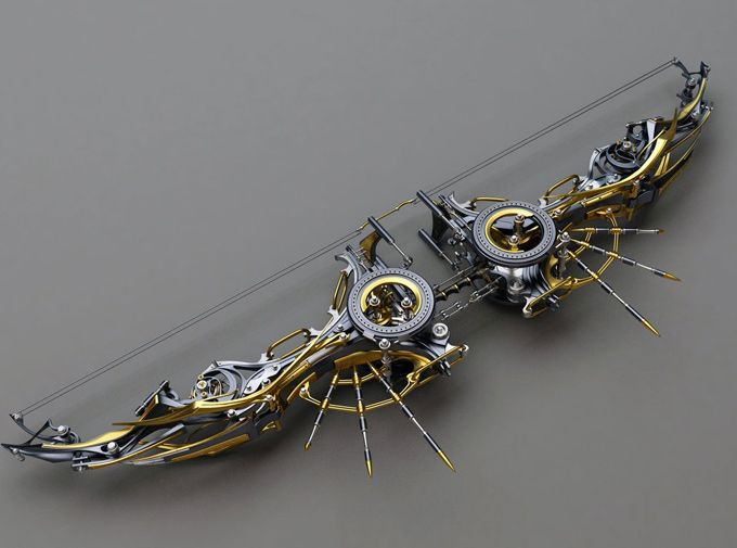 Steampunk Composite Bow