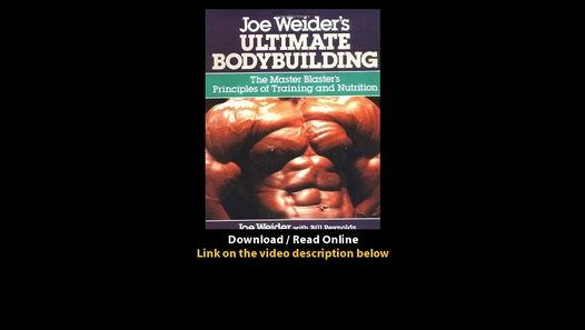 Download pdf   ebook    bitly 1aIK1jf Joe Weiders Ultimate - new arnold blueprint ebook