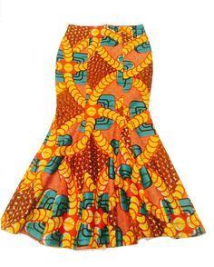 Kitenge jupe, jupe longue Ankara, jupes de sirène, africain imprimé jupes, jupe Maxi, idée cadeau, Jupes colorées, usure africain, jupe, jupes fête