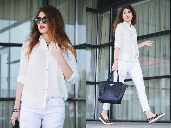 220a6867d93a5a White Shirt Outfits-18 Ways To Wear White Shirts For Girls