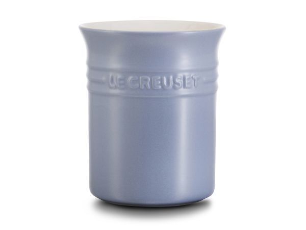 Le Creuset Stoneware Utensil Holder, 1 Litre - Keep your utensils within easy reach (and add a bright pop of colour to your kitchen) with the Le Creuset Stoneware Spatula Crock.