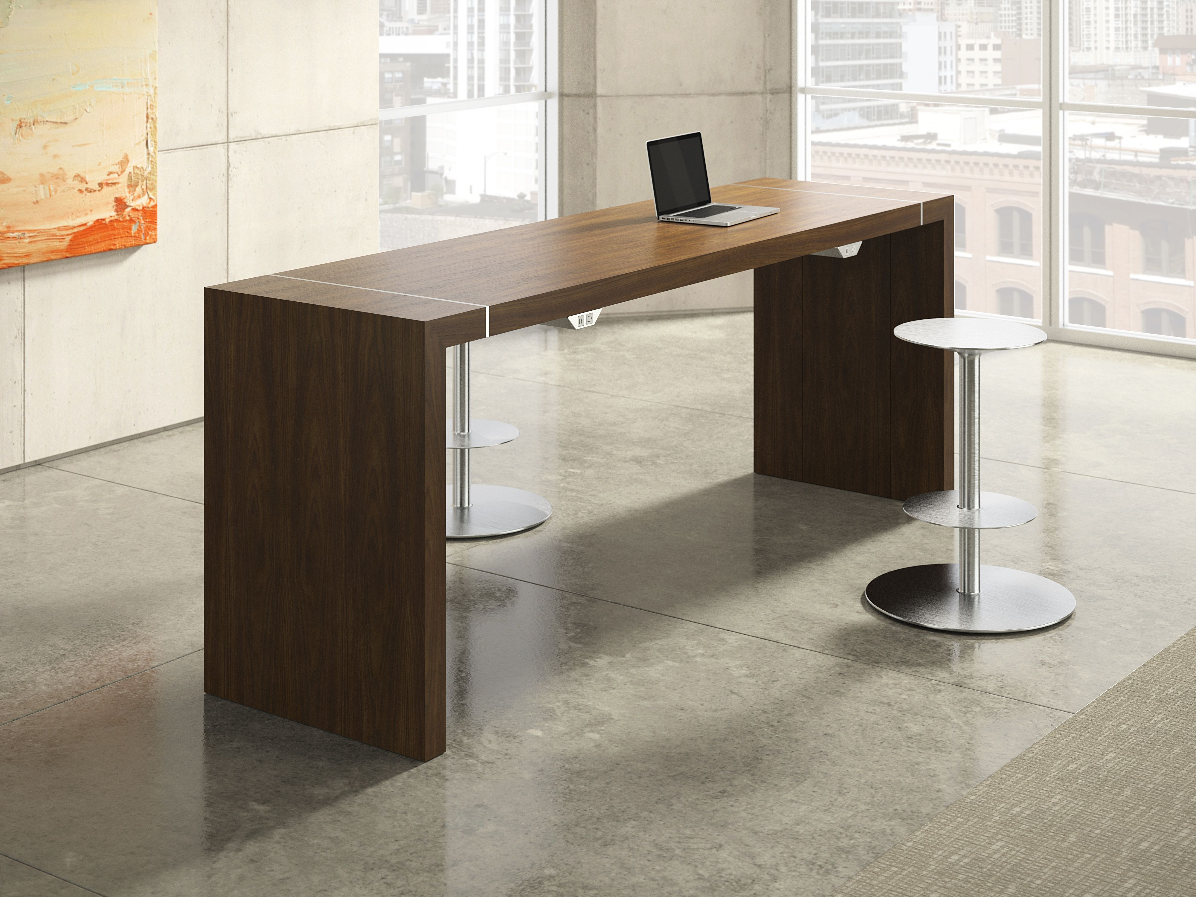 Tesano Is A High Performance Standing Height Table That Addresses - Standing height meeting table