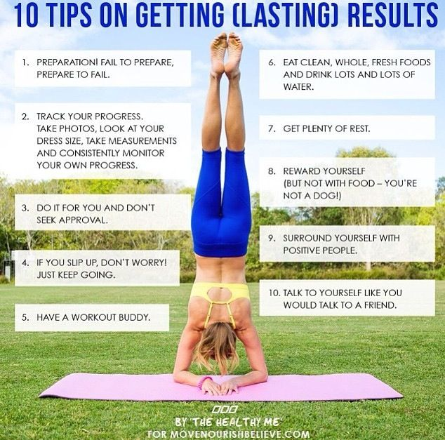 10 tips for lasting results