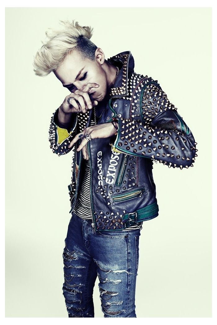 K Pop Star G Dragon for Complex