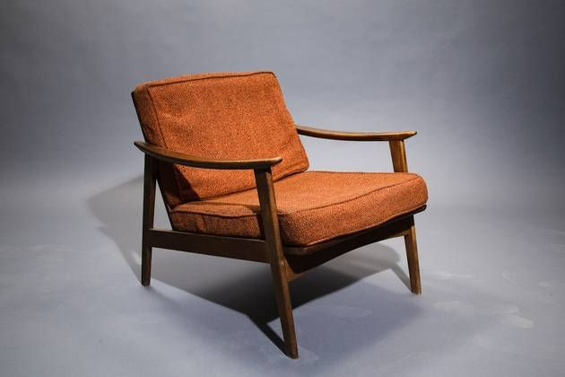 Perfect Picture Of 1950u0027s Danish Lounge Chair   2