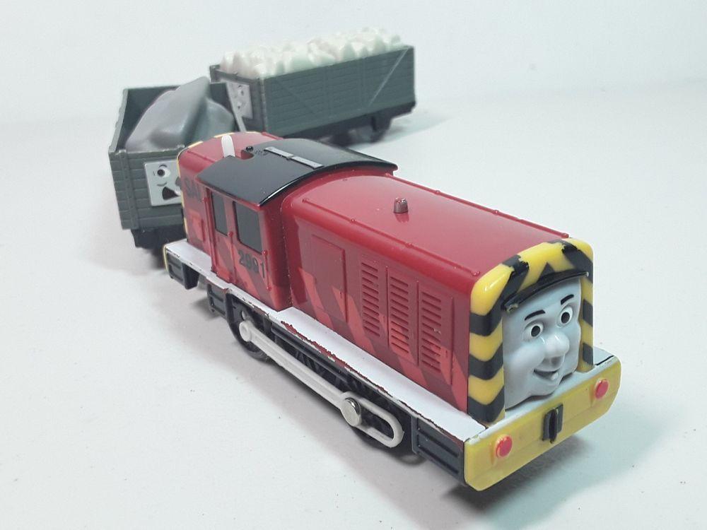 THOMAS Train Trackmaster Flat Bed Cargo Truck 2006