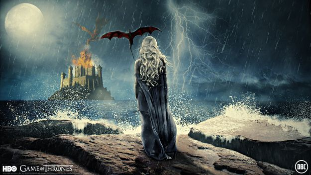 22 Pieces Of Game Of Thrones Fan Art That Are Touring The Globe Game Of Thrones Artwork Daenerys Targaryen Painting Art Game of thrones wallpaper daenerys