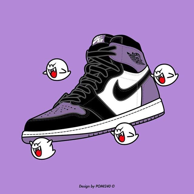 Pin by makinzie wall on artwork Sneakers illustration