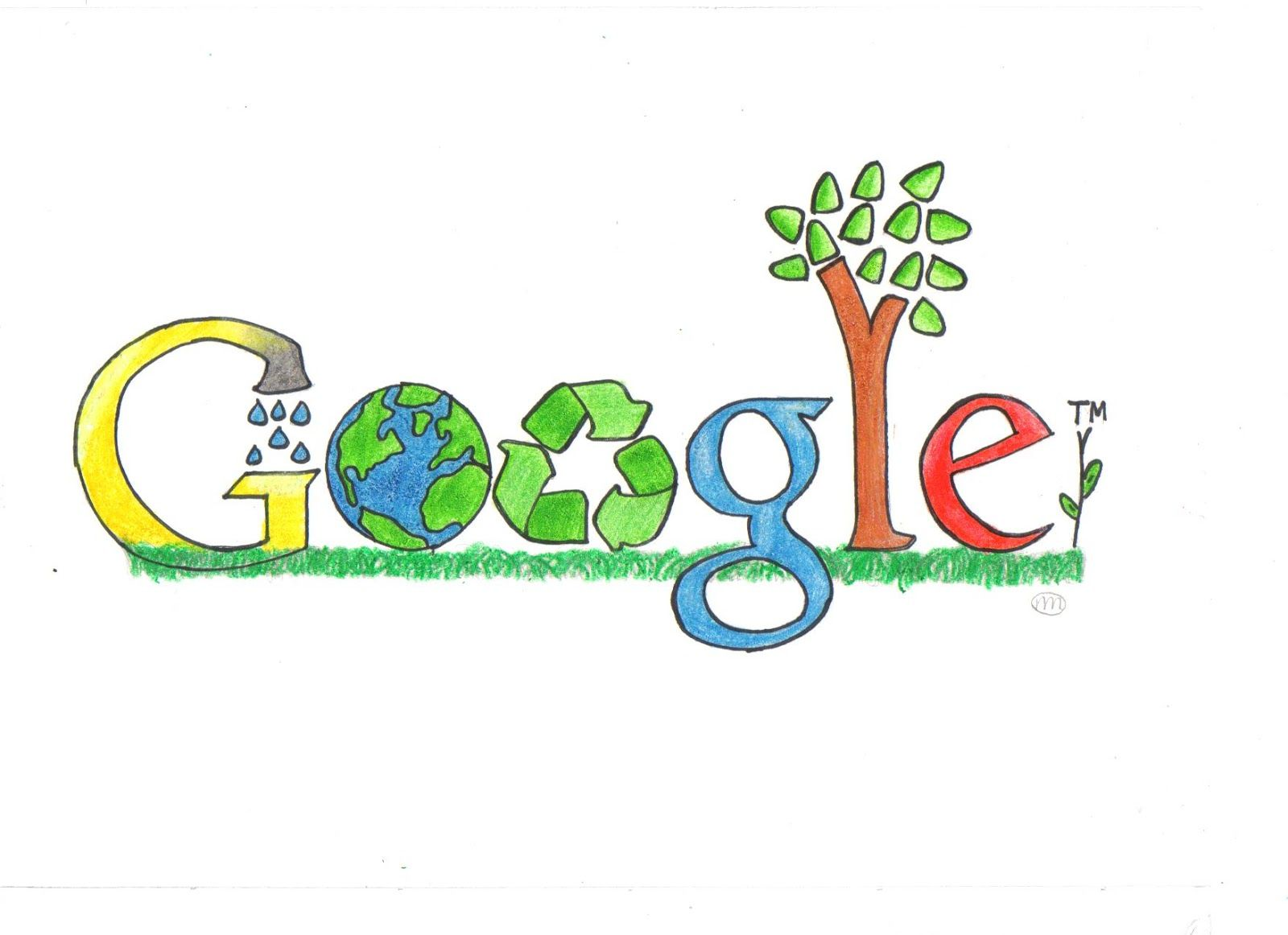 environmental theme google doodle if i were a green hero