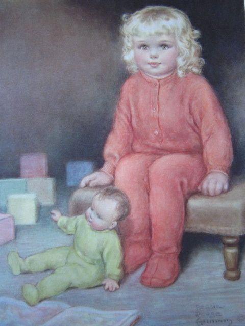 Bessie Pease Gutman Print