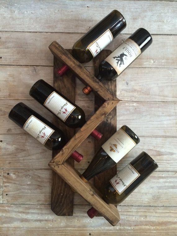 crmorand 8 bottle wine rack by WallisFamilyCustoms on Etsy