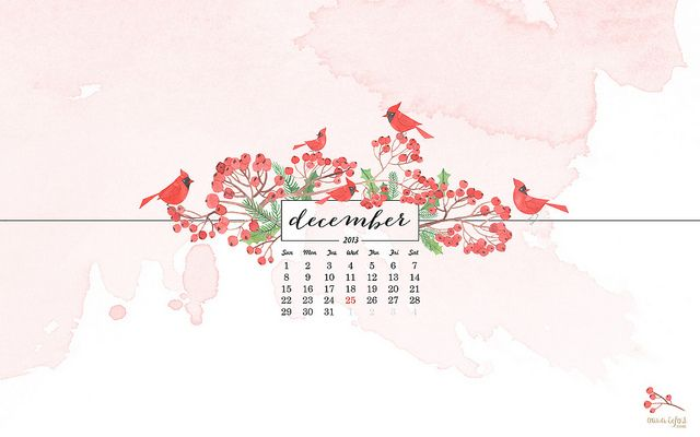 Fondo De Escritorio Diciembre De Oana Befort December Desktop Calendar By Oanabefort Via Flickr Watercolor Calendar Calendar Wallpaper Hello December