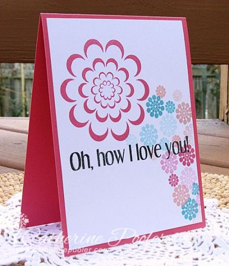 It S Time For Another Kiss Card Keep It Simple Stamper I Really Love Doing Cards And Videos Like This They Are Tr Card Making Projects Cards Handmade Cards