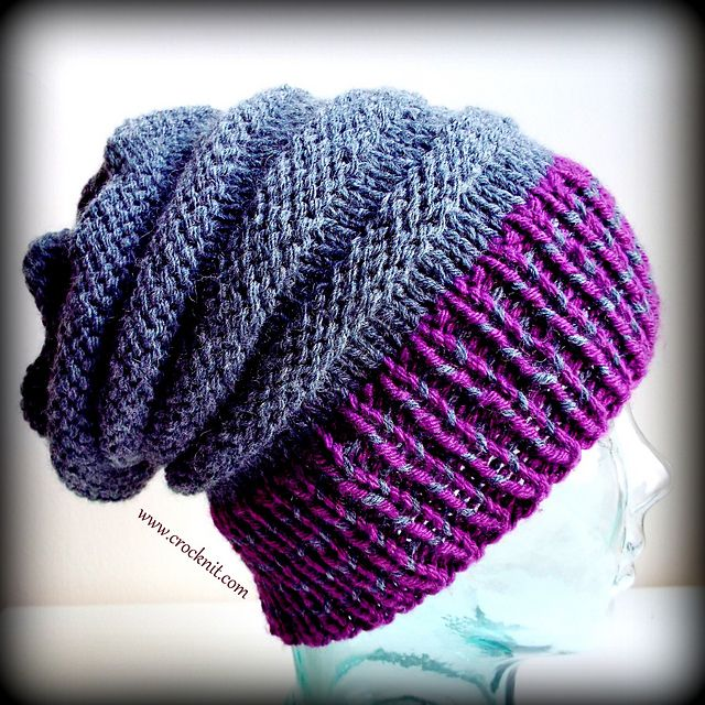 Ravelry: BUZZ BUZZ Slouchy Hat pattern by Barbara Summers ...