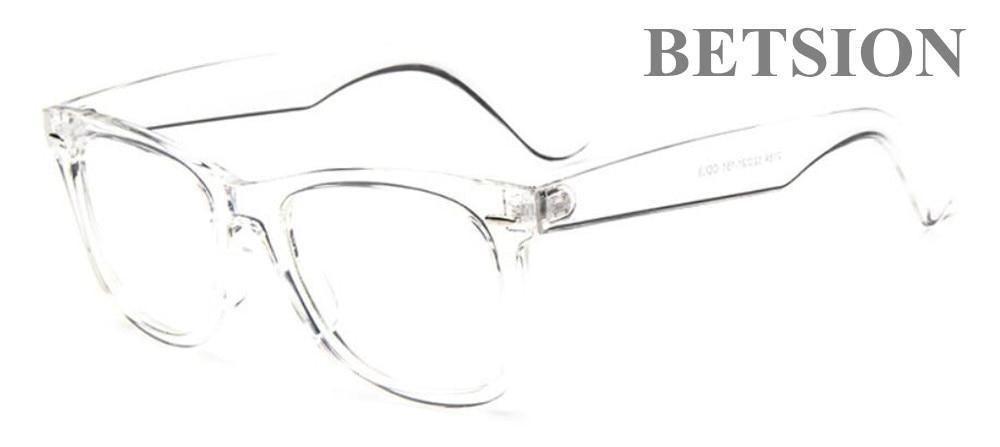 4812a51d08e Vintage Transparent Eyeglass Frame Spectacles Full Rim Retro Fashion Man  Womendresskily