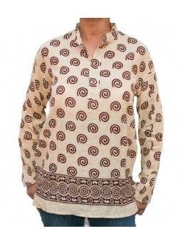 Camisa de Hilo India - La Taza Solidaria  466d8fab56d