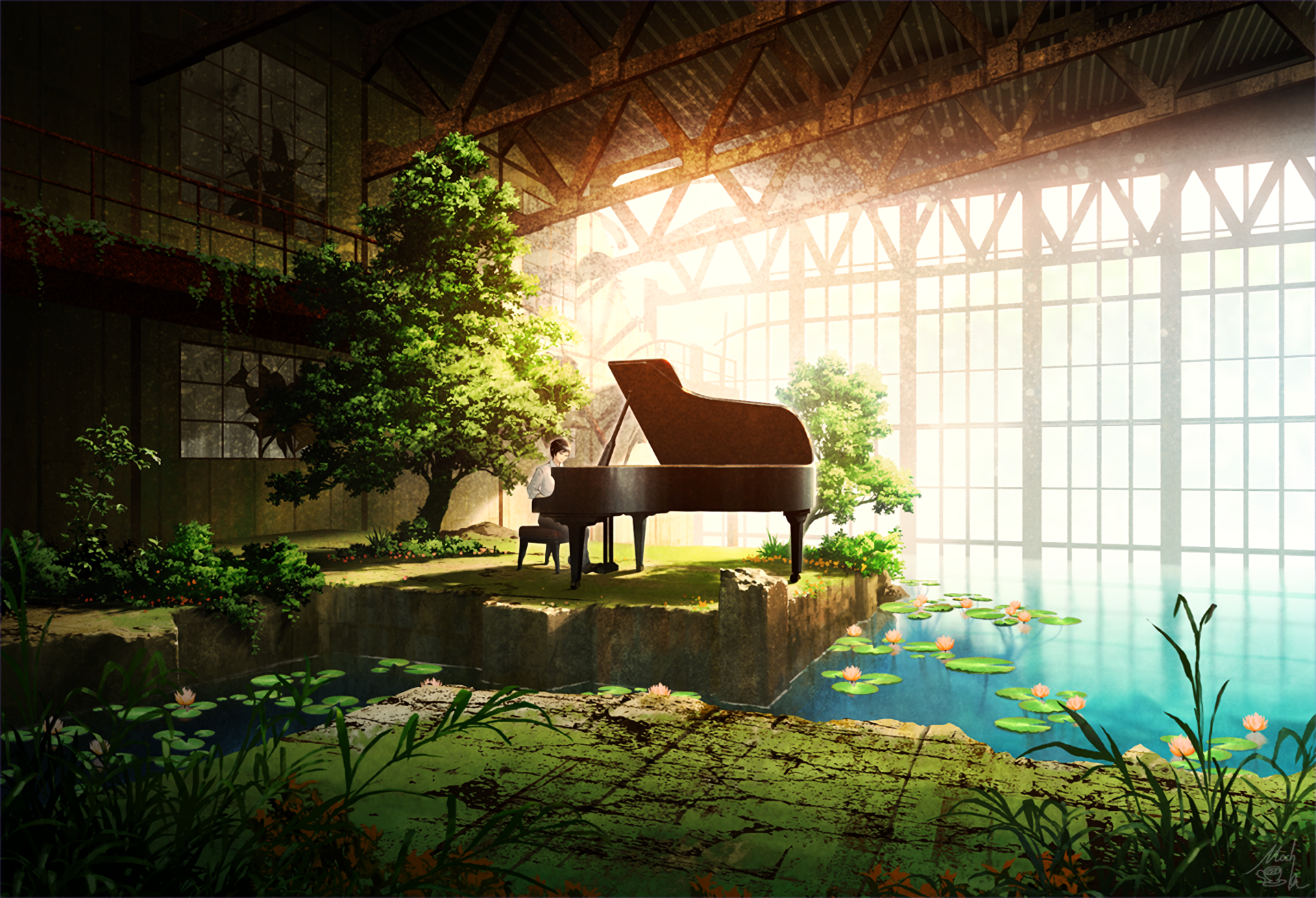 anime scenery fall wallpaper Anime Landscapes