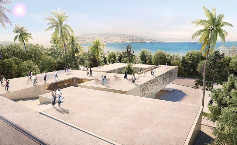 Concours La Maison de larchitecture Tanger 1er prix Youssef Lahkim - prix de construction maison