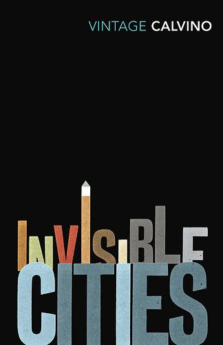 Invisible Cities A narrative typographic series of covers (for one of my favourite authors no less) designed for Vintage Classics. Started in 2007 and still going... (2009) | Images by Subtitle, Michael Salu