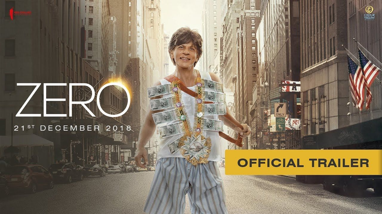 Its SRK's B'day Official Trailer of ZERO Has Been