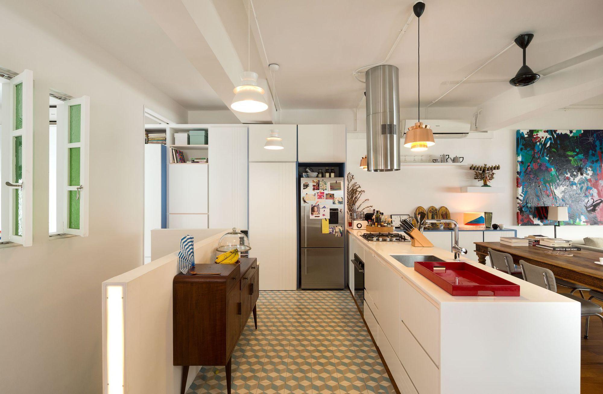 Appartement Singapour : un 90 m2 aux cloisons amovibles | Singapour ...