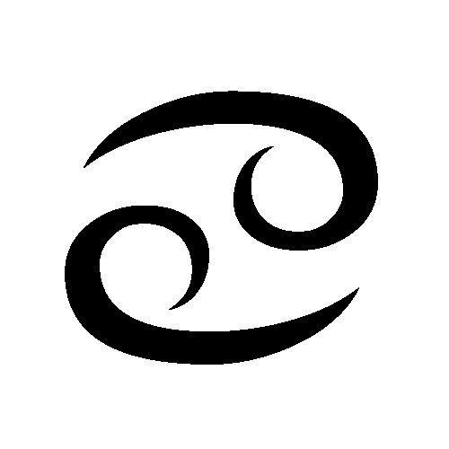 Funny How The Cancer Sign Is So Close To Looking Like A Yin And Yang