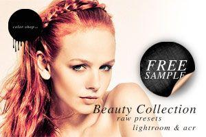 Free Lightroom Preset for Beauty Photography in Studio