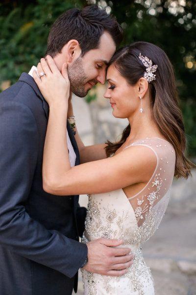 The Best 2015 Celebrity Weddings Wedding Hair Side Wedding Hair Down Simple Wedding Hairstyles