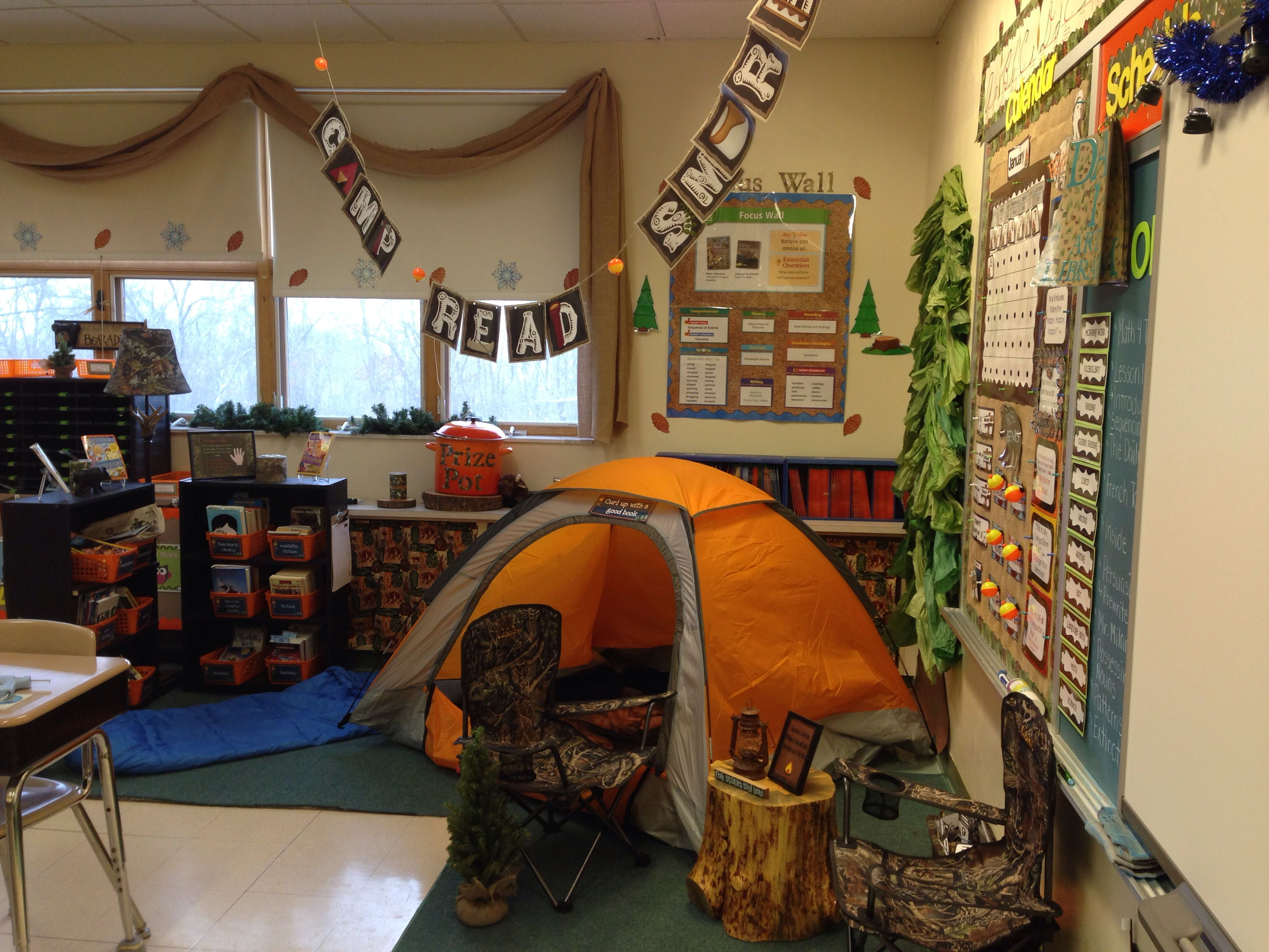 Camping Themed Classroom Decorations ~ Camping themed classroom pinterest